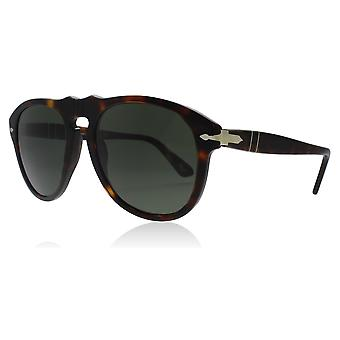 7861c5d407 Persol PO0649 24 31 Tortoise PO0649 Pilot Sunglasses Lens Category 3 Lens  Mirrored Size 56mm