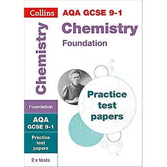 AQA GCSE 9-1 kjemi Foundation praksis Test papirer (Collins GCSE