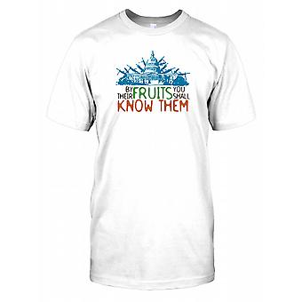 By Their Fruits You Shall Know Them Mens T Shirt