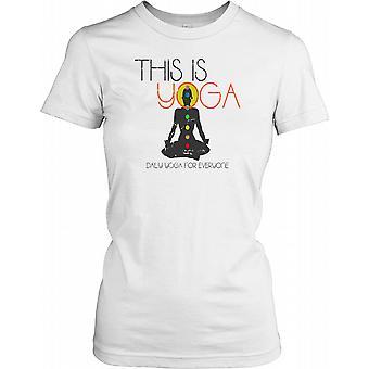 Jest to Yoga - Joga codziennie dla wszystkich Pań T Shirt