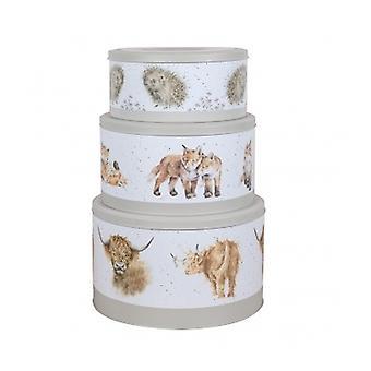 Wrendale Designs Set of 3 Cake Tins