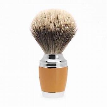 Muhle Butterscotch Stylo Silvertip Badger Pennello da barba