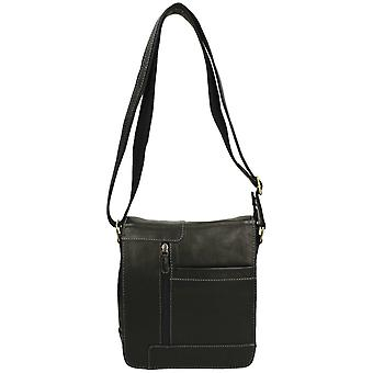 Mens Springvale Leathers Crossbody Bag 1155WB