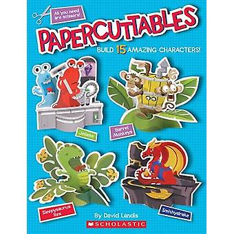 Papercuttables by David Landis - 9780545834889 Book