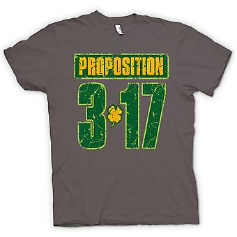 Kids T-shirt - St Patricks Day - Proposition 3 17