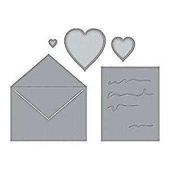 Spellbinders Die D-Lites Love Letter (S3-313)