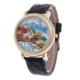 Paysage Dial Watches-Aqua