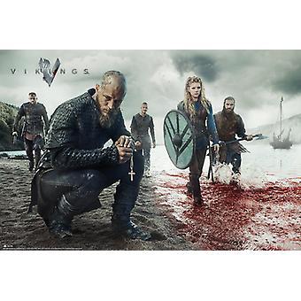 Vikings Blood Landscape Maxi Poster 61x91.5cm