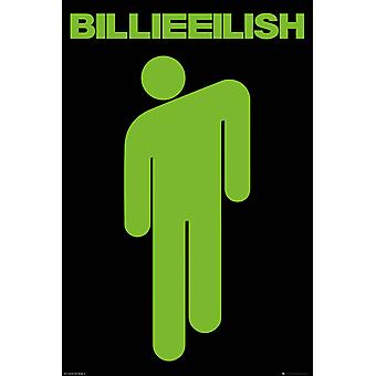 Billie Eilish Stickman Maxi Poster