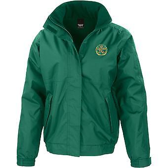 Kleine Arme Schule Farbe - lizenzierte britische Armee bestickt wasserdichte Jacke mit Fleece Inner