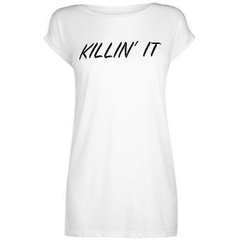 USA Pro Womens Killing It Slogan T Shirt Ladies Crew Neck T-Shirt Tee Top