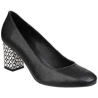 Riva Womens Otranto Printed Leather Slip on Court Shoe