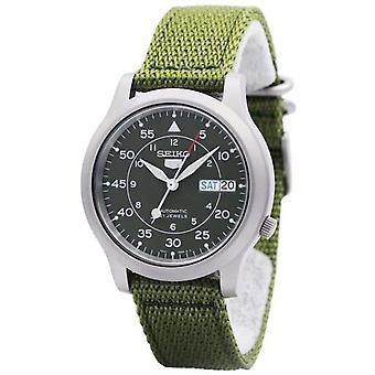 Seiko 5 Military Automatic Nylon Snk805k2 Men's Watch