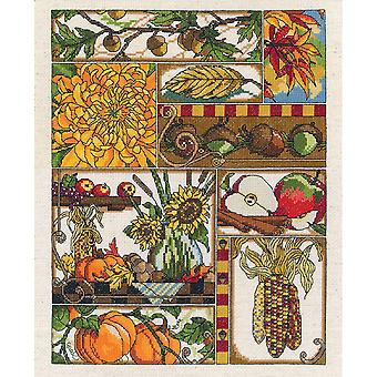 Autumn Montage Counted Cross Stitch Kit-11
