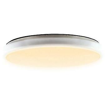 LED bathroom ceiling light 25 W Warm white Heitronic 27005 Ulla White