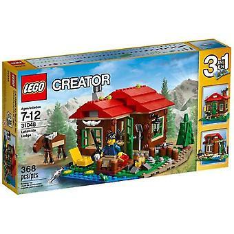 Lego 31048 Lakeside Lodge (Toys , Constructions , Buildings)