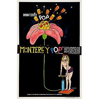 Monterey Pop Poster Kunst 1968 Film Poster Masterprint
