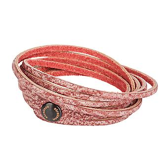 Strellson leather strap bracelet leather Bordeaux