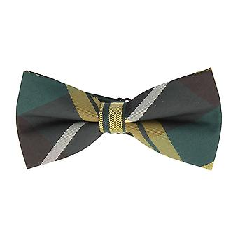 Andrews & co.-bound fly loop micro fiber green striped yellow black