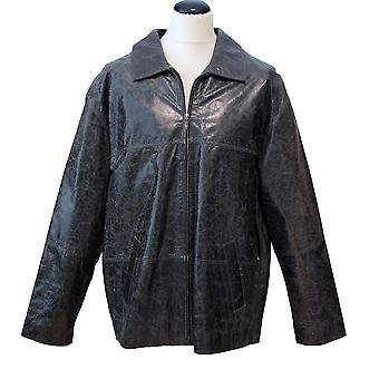 COPPELIUS - leather jacket men's jacket waxed crushed leather ComfortFit
