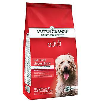 Arden Grange voksen med frisk kylling & ris 2kg