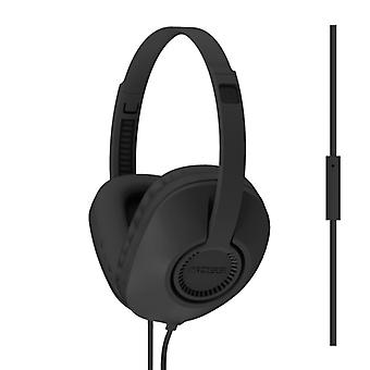 KOSS Hörlur UR23i Over-Ear One Touch Mic Svart