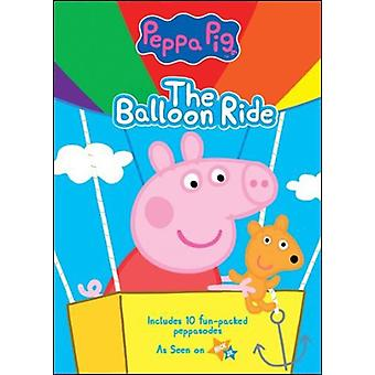 Peppa Pig: Ballongfärd [DVD] USA import