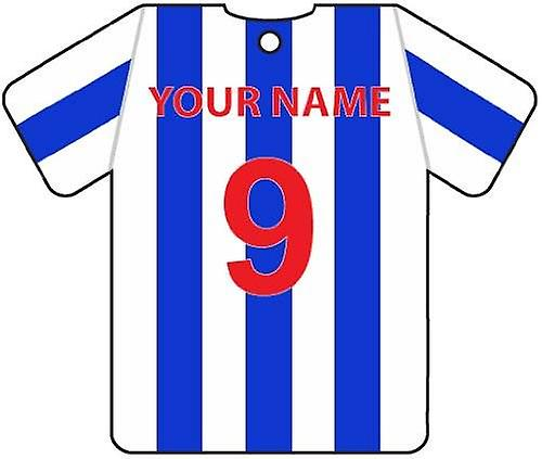 Gepersonaliseerde Colchester United Football Shirt auto luchtverfrisser