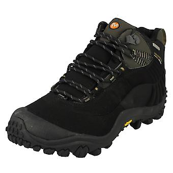 Mens Merrell Casual Waterproof Lace Up Walking Boots Chameleon