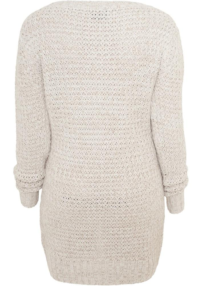 Urban classics ladies sweater long Wideneck