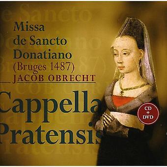 J. Obrecht - Jacob Obrecht: Missa De Sancto Donatiano [CD+Dvd] [CD] USA import
