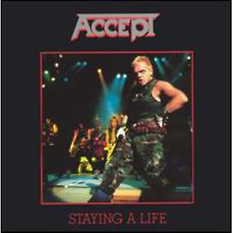 Accept - Staying a Life [CD] USA import