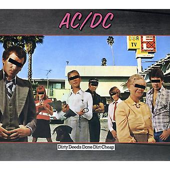 Ac/Dc - Dirty Deeds Done Dirt Cheap [CD] USA import