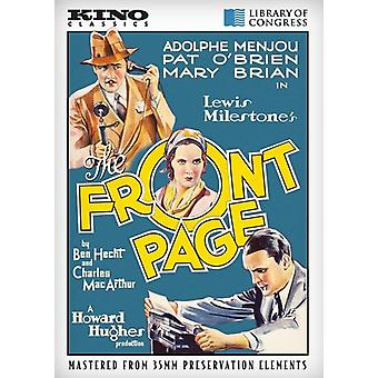 Front side [DVD] USA import