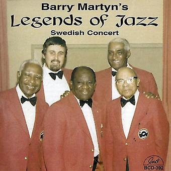 Martyn, Barry legender af Jazz - svenske koncert [CD] USA import