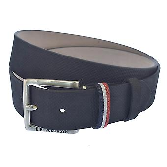 U.S. POLO ASSN. Men's perforated belt