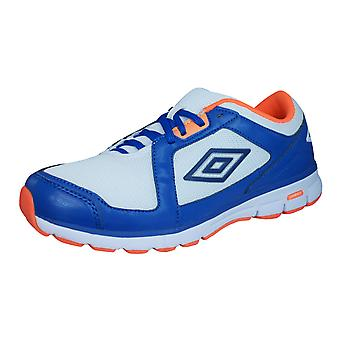 Umbro Trainer League Mens Fitness Trainers / schoenen - wit blauw