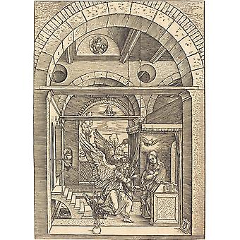 Albrecht Durer - The Annunciation Poster Print Giclee