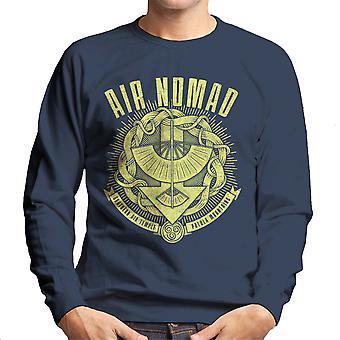Air Is Peaceful Avatar The Last Airbender Men's Sweatshirt
