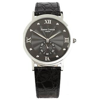 Simon Carter Diamond pyntet Watch - svart
