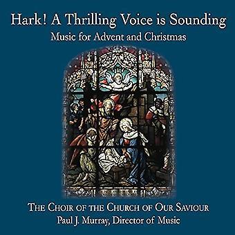 Coro de la iglesia de nuestro Salvador - duro una importación de USA de la emocionante voz está sonando [CD]