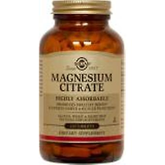 Solgar Magnesium Citrate Tablets 120ct