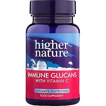 Higher Nature Immune Glucans 90 veg caps