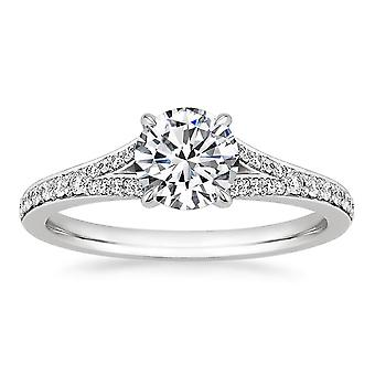 Ina Exquisite 925 Sterling Silver Engagement Ring- Ginger Lyne Collection
