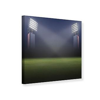 Lærred Print Soccer Stadium