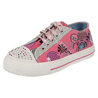 Girls AirTech Casual Pumps Rogue