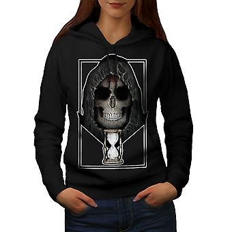 Orologio in metallo morte cranio donne BlackHoodie | Wellcoda