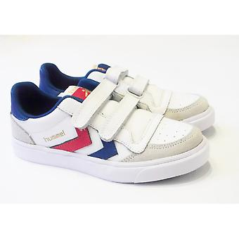 Hummel Hummel Boys Leather Retro Trainers