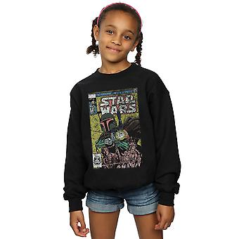 Star Wars Girls Boba Fett Comic Sweatshirt