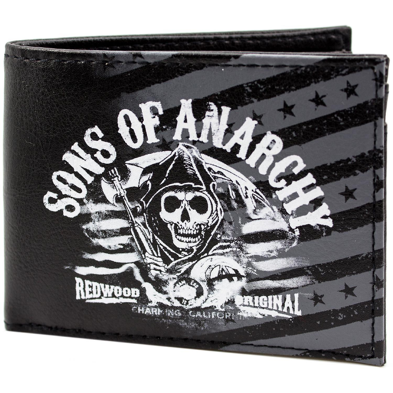 Fox Sons of Anarchy Redwood ID & Card Bi-Fold Wallet